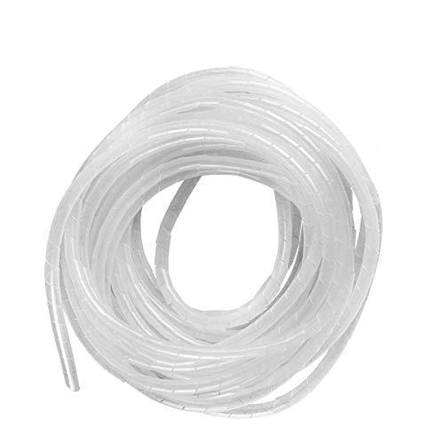 GTIWUNG 15 Metros Organizador de Cables en Espiral, Tubo Flexible en Espiral...