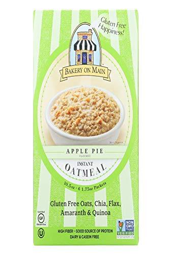 Bakery On Main Oatmeal Instant gluten free Apple Pie, 10.56 oz