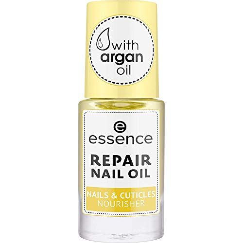 essence REPAIR NAIL OIL NAILS & CUTICLES NOURISHER, Nail Care, Nagelpflege, transparent, reparierend, pflegend, natürlich, ohne Aceton, vegan, ohne Konservierungsstoffe (8ml)