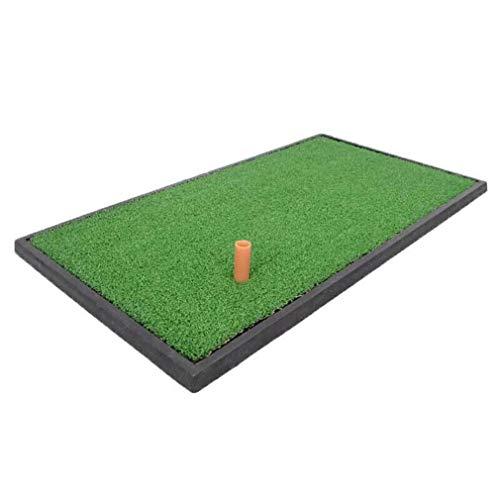 JU FU Outdoor-Sportarten Golf Schlagen Pad Indoor Practice Pad verdickt Swing Pad leicht zu tragen, Mini @@