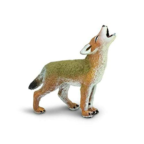 TAKAZOON Garden Decor Statues Supplies for Miniature Dollhouse Fairy Garden Howling Coyote - Buy 3 Save $5 for Garden, Patio, Deck, Porch - Yard Art Decoration