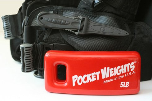 Pocket Weights BCD Scuba Weights (5)