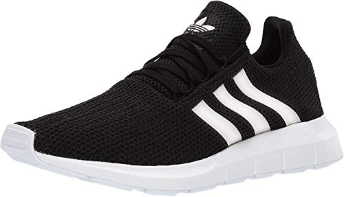 adidas Originals Women's Swift Run Sneaker, Black/White/Black, Numeric_5_Point_5
