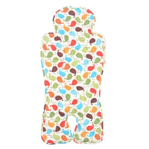 LGP Colchoneta Silla de Paseo Universal, Cojín Estera con Hielo de Cochecito de Verano Almohadilla para el automóvil Asiento Enfriador para bebé