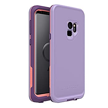 LifeProof FRĒ SERIES Waterproof Case for Samsung Galaxy S9 - Retail Packaging - CHAKRA  ROSE/FUSION CORAL/ROYAL LILAC
