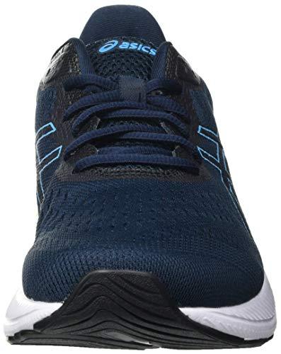 Asics Gel-Excite 8, Road Running Shoe Hombre, French Blue/Digital Aqua, 43.5 EU