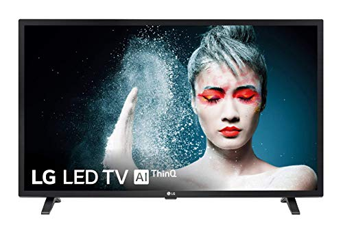 "LG 32LM6300PLA - Smart TV Full HD de 80 cm (32"") Works With Alexa, Procesador Quad Core, HDR y Sonido Virtual Surround Plus, color negro"