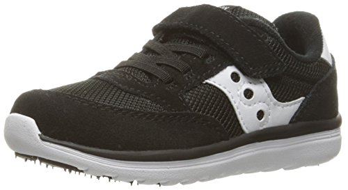 Saucony Baby Jazz Lite Sneaker (Toddler/Little Kid/Big Kid), Black, 11.5 W US Little Kid