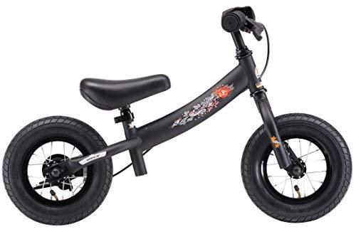 BIKESTAR Kinder Laufrad Lauflernrad Kinderrad für Jungen und Mädchen ab 2-3 Jahre | 10 Zoll Sport Kinderlaufrad | Schwarz - 3