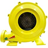 Zoom Blowers 960-Watt, 1.25HP Compact and Energy Efficient Zoom Commercial Air Blower for Small Inflatables and Bounce Houses