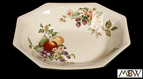 New English Johnson Brothers Open Vegetable Octagonal Dish Plate