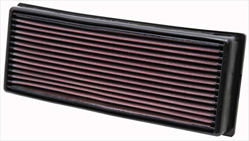 K&N Engine Air Filter: High Performance, Premium, Washable, Replacement Filter: 1968 -1997 AUDI/VOLKSWAGEN/FORD/VOLVO (Cabriolet, 80, 90, 100, 4000, S2, Caddy I, Jetta, Golf, Passat, Quantum), 33-2001