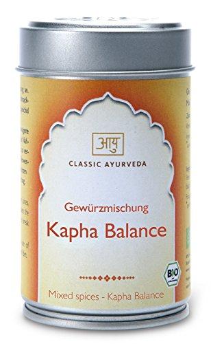 Classic Ayurveda - Kapha Balance Churna (Gewürzmischung in Aromaschutzdose), 1er Pack (1 x 50g) - Bio