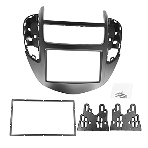 CMEI Coche Estéreo Fascia Dash Panel 2 DIN Frame Kit de Ajuste Adecuado para Chevrolet Trax/Holden Trax 2013+ Double DIN Radio Fascias GPS Bisel Panel
