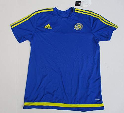 adidas Fußball-Trikot Kurzarm Gr. L MACCABI TEL-Aviv Sammlertrikot Climacool Neu