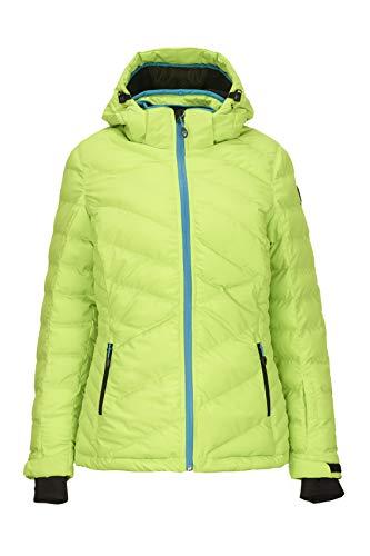 Killtec Damen Hilja Skijacke Mit Abzippbarer Kapuze Und Schneefang, Apfel, 46