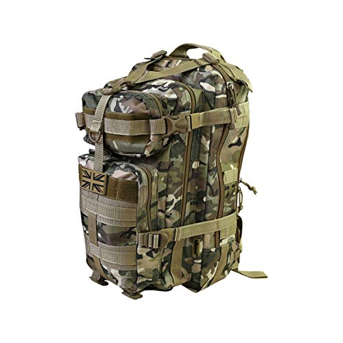 Kombat Tactical *New Stealth Pack - 25 Litre Daypack - Multi Terrain Camo BTP MTP