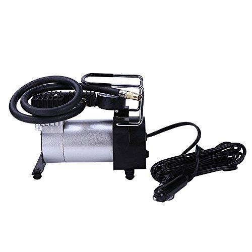 Elear™ Compresseur d'air électrique portable pour pneus de voiture et de vélo 12 V 140 psi