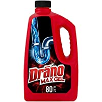 Drano Max Gel Drain Clog Remover and Cleaner 80 Oz