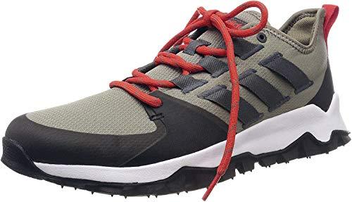 adidas Kanadia Trail - Zapatillas para hombre, (Trace Cargo Grey Seis, Negro), 41 EU
