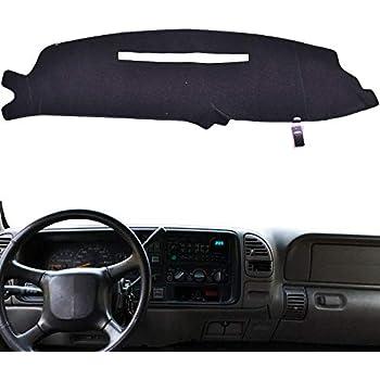 Amazon Com Xukey Dashboard Cover For Chevrolet Silverado C1500 C2500 C3500 K1500 K2500 K3500 1988 1994 Dash Cover Mat Automotive