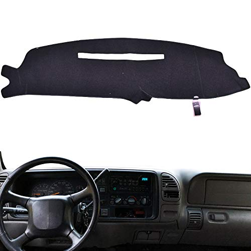 XUKEY Dashboard Cover For Chevrolet Silverado C1500 C2500 C3500 K1500 K2500 K3500 1997 1998 Dash Cover Mat