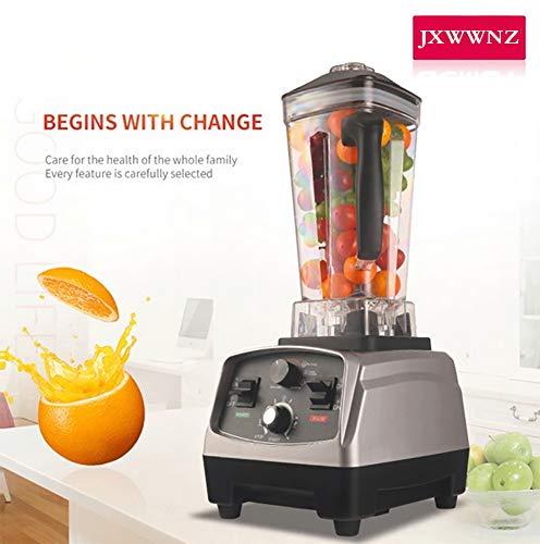 JXWWNZ Standmixer Smoothie Maker, 1650W Smoothie Blender, Schleifer und EIS-Zerkleinerungsmaschine, 26.000 U/min, 2.0L Tritan-Behälter ohne BPA,B