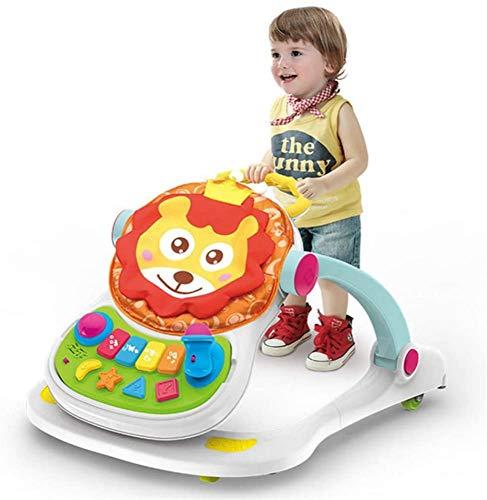 Why Choose HengYue Baby Walking Harness, Multifunctional 4 in 1 Anti Rollover Trolley Baby Music Edu...