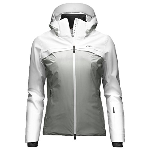Kjus Damen Skijacke CAPE JACKET weiß/grau Gr. 38
