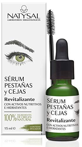 Natysal Serum Revitalizante Pestañas Y Cejas 15Ml. 1 Unidad 500 g