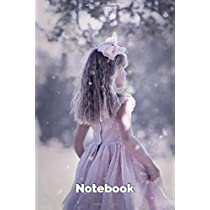 Notebook: College Ruled - 100 pages - Cute Kid Girl Cover - Standard 6 x 9 inches - Lined Notebook  for girls