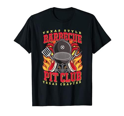 Barbacoa de barbacoa Pit Club Camiseta
