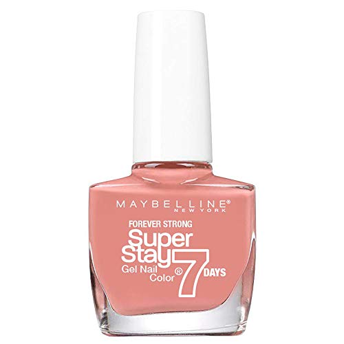 Maybelline New York Nagellack Superstay 7 Days City Nudes Nummer 888 brick tan, 1er Pack (1 x 10 ml)