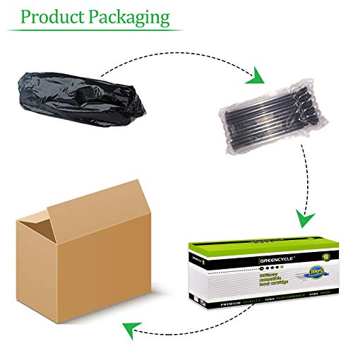 GREENCYCLE 1500 Pages per Toner Cartridge Replacement Compatible for Samsung MLT-D101L MLT D101L D101S Used in ML-2165W SCX-3400F SCX-3405FW SF-760P Printer (Black, 1-Pack) Photo #4