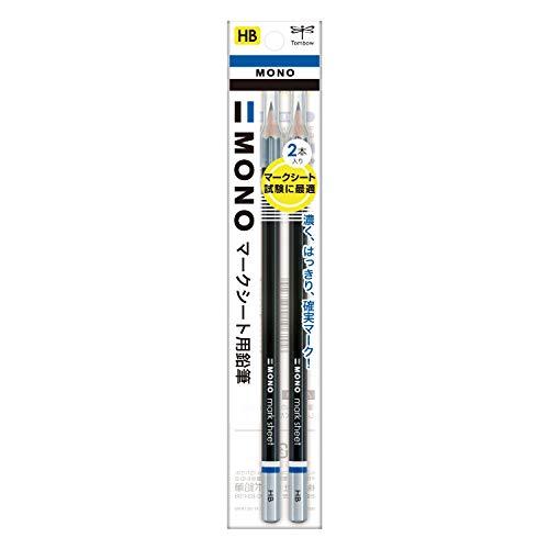 トンボ鉛筆 マークシート用鉛筆 モノKN HB 2本入り ACA-212