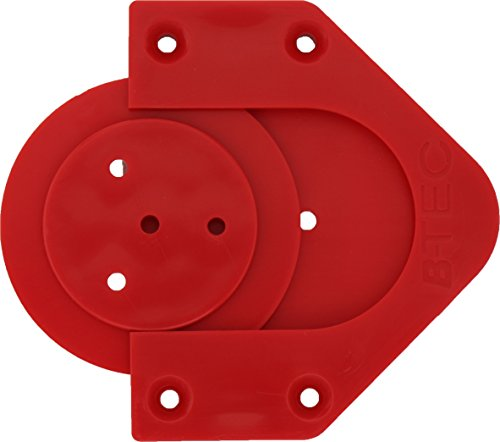 BULL'S Profix Bristle Board Wandhalter, Rot, 1 Stück