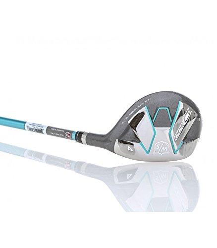Wilson Golf WGW310004 Hybride de Golf Femme, Bleu