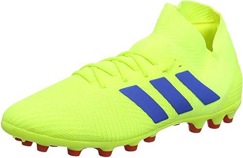 adidas Nemeziz 18.3 AG, Zapatillas de Fútbol Hombre, Amarillo (Solar Yellow/Football Blue/Active Red Solar Yellow/Football Blue/Active Red), 42 2/3 EU