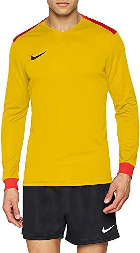 NIKE Men's Dry Park Derby II Football Jersey Camiseta de Manga Larga, Hombre, Black/Volt/Volt/(White), M
