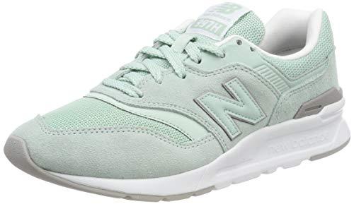 New Balance Damen 997H Sneaker, Weiß (White Agave/White), 36 EU