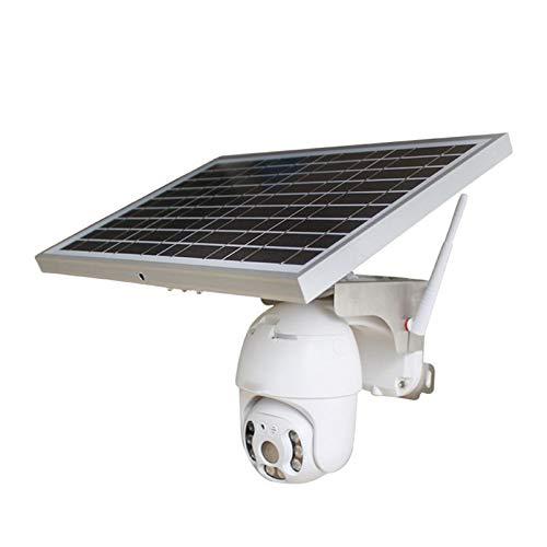 Cámara Ptz De Seguridad Iwfi Inalámbrica Solar, Cámara Cctv Ip 1080p Para Exteriores, Con Monitoreo De Movimiento Pir, Audio De 2 Canales, Ip66 A Prueba De Agua, Almacenamiento De Tarjeta Tf