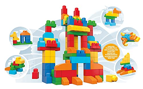 Mega Bloks First Builders Deluxe Building Bag, 150 pieces [Amazon Exclusive]