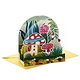 Hallmark Paper Wonder 599RZW1020 Pop-Up-Geburtstagskarte (Gartenzwerge)