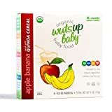 8x Organic Quinoa Infant & Baby Cereal Travel Packs w/Naturally Occurring Omega 3, 6, 9 Protein,...