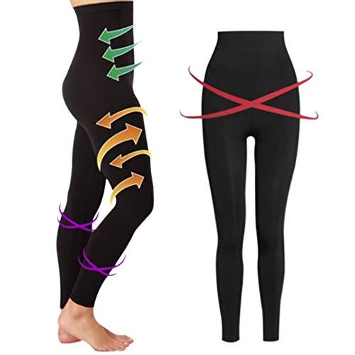 Wellouis Women Sleeping Beauty Legs Shaper Legging Socks Slimming Leg Hip Up Pants/Sleeping Tights Sleeping Socks Pants Elastic Pantyhose Suitable for All Women (Size :M&L)