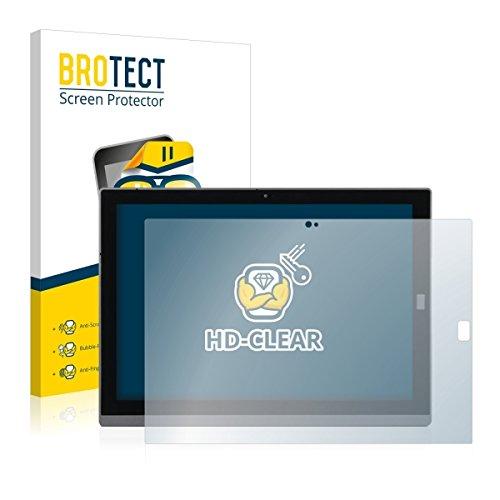 2X BROTECT HD Clear Bildschirmschutz Schutzfolie für Wortmann Terra Pad 1270 (Kristallklar, extrem Kratzfest, schmutzabweisend)