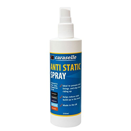 Anti-Static Spray 250ml - BEST VALUE - Stop Static Electricity and Prevent Clinging Jumpers,...