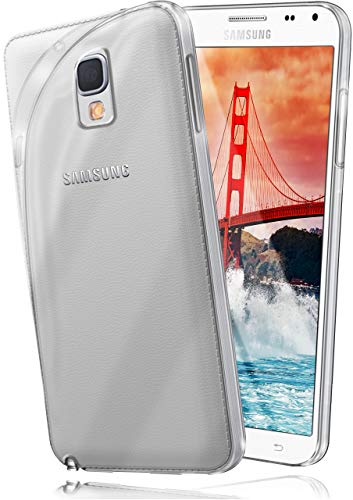 MoEx® AERO Hülle Transparente Handyhülle kompatibel mit Samsung Galaxy Note 3 Neo   Hülle Silikon Dünn - Handy Schutzhülle, Durchsichtig Klar