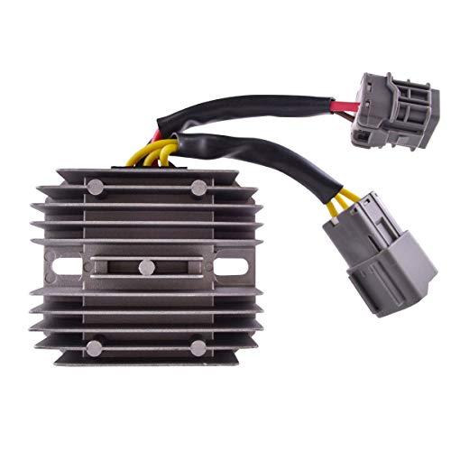 Voltage Regulator for Arctic Cat 350 | 366 | 400 Auto. CR | 425 | 450 | Alterra 400 450 500 | XC 450 2008-2018 OEM Repl.# 3306-413