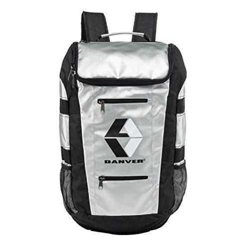 Danver Reckless Backpack, Unisex - Erwachsene, Unisex, DV649, silber / schwarz, Einheitsgröße